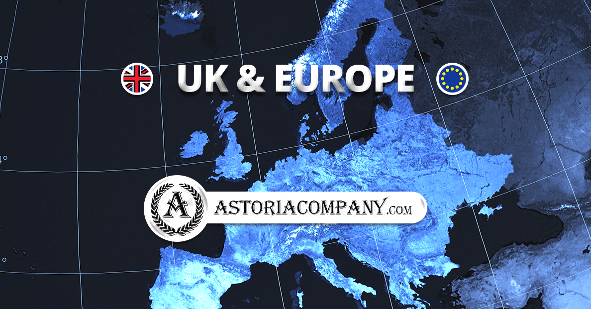 Astoria Company Announces Exciting Expansion into the UK and Europe